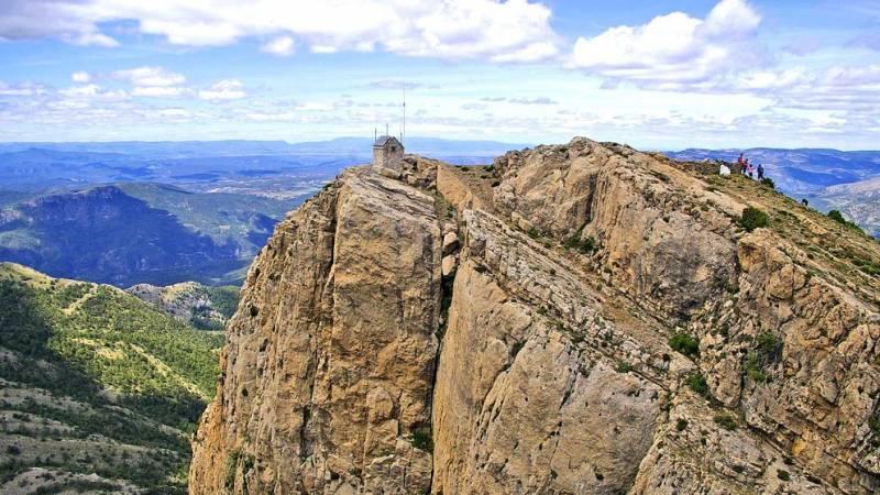 Imagen de archivo pico de Peñagolosa./ EPDA
