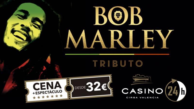 Anuncio del espectáculo en el casino de Valencia.//EPDA