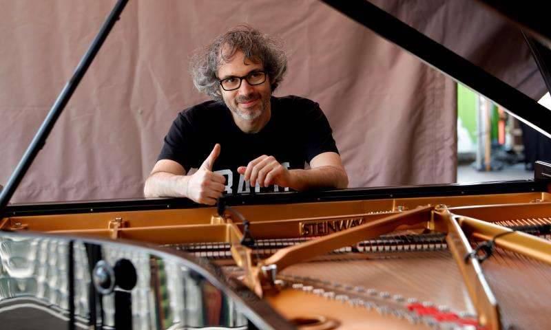 El pianista británico James Rhodes. EPDA