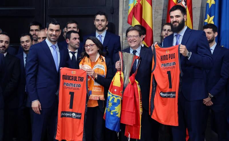 Recepción Valencia Basket