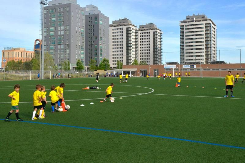 Entre los objetivos del proyecto se encuentran mejorar las condiciones de seguridad y calidad de los campos deportivos de césped artificial