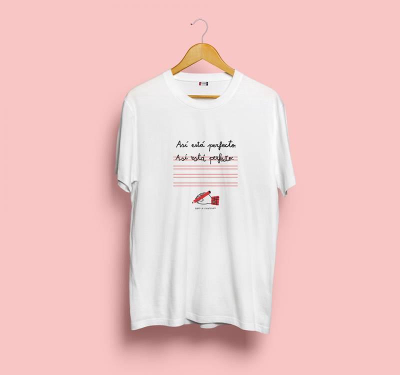 Una de las camisetas lanzadas. EPDA