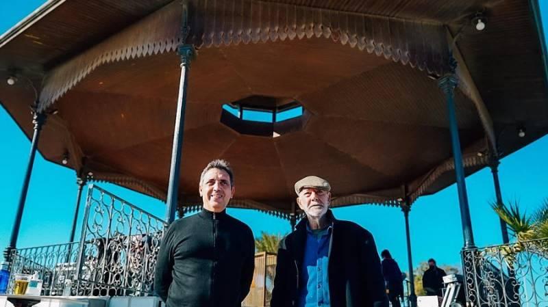 Julio Bustamante y Pep Gimeno
