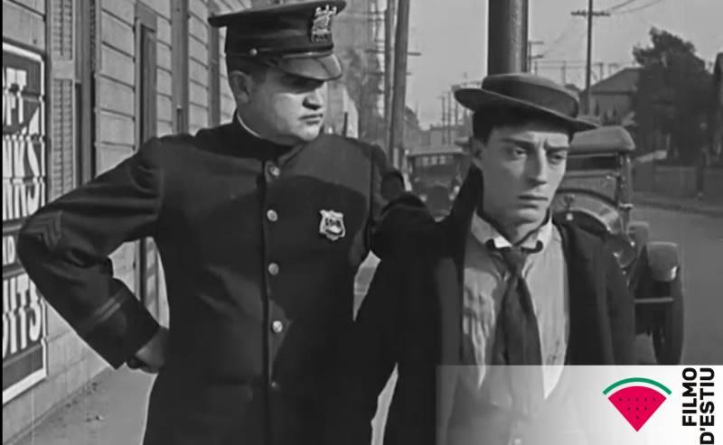El IVC presenta en la Filmoteca d'Estiu un programa doble de Buster Keaton con 'La cabra' y 'El navegante'
