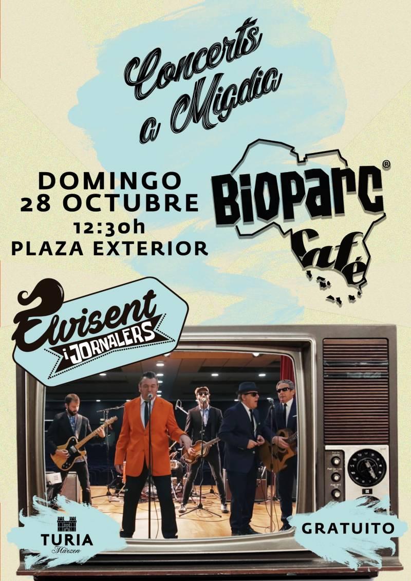 Este domingo concierto gratuito con ELVISENT i Jornalers en BIOPARC Valencia