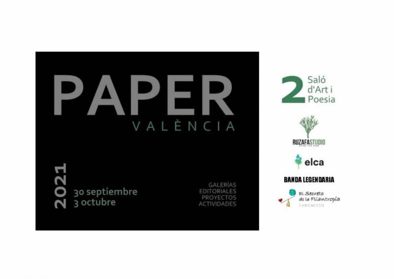 Cartel de PAPER València.