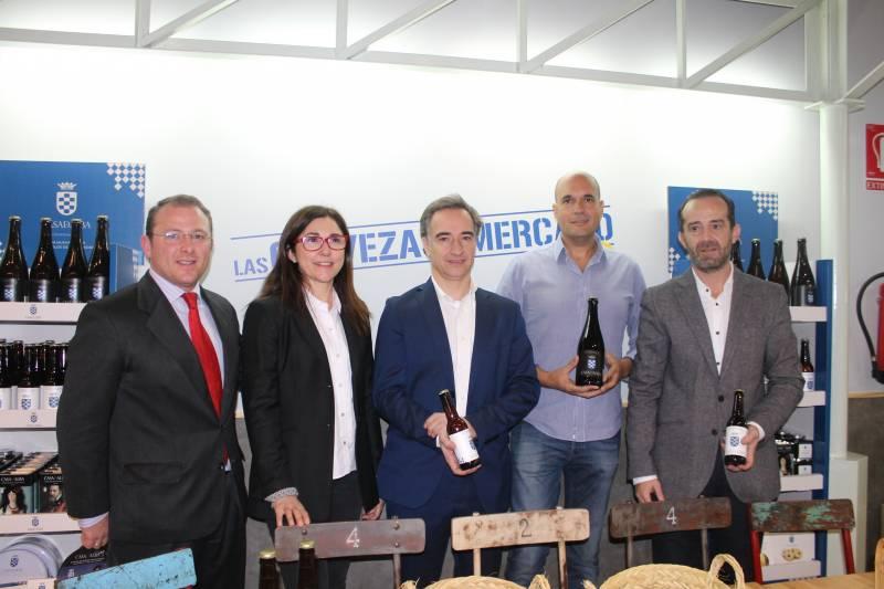 David Pérez, Christian Jardel, Anabel Navas, Juan Cereijo, y Paco Valls//E.C.