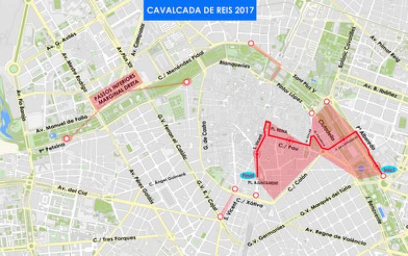 Itinerario Cabalgata
