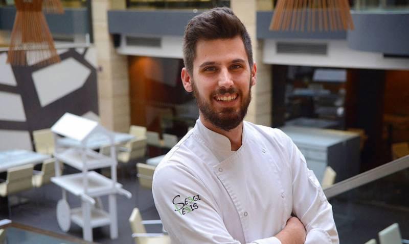 Sergi Peris tiene su restaurante ubicado en la galería Jorge Juan//Viu València