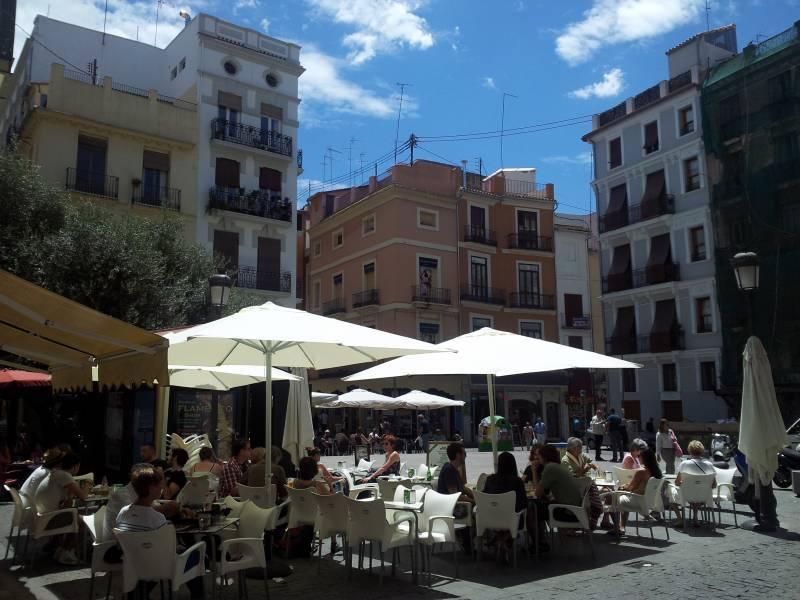 Las 8 zonas con el mejor terraceo de Valencia
