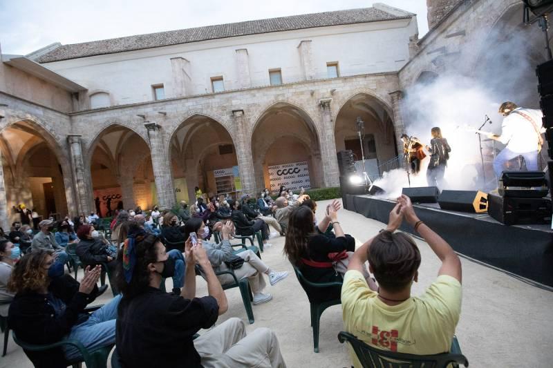 Music Lab del Centre del Carme Cultura Contemporània (CCCC). Imagen: GVA
