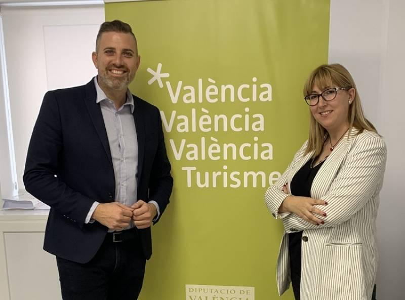Jordi Mayor y Daniela González