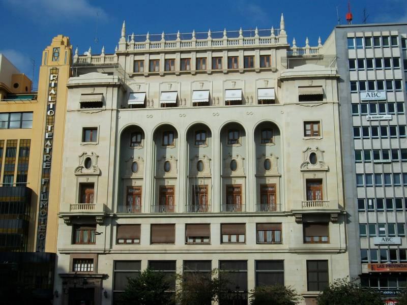 Edificio de El Ateneo Mercantil. EPDA