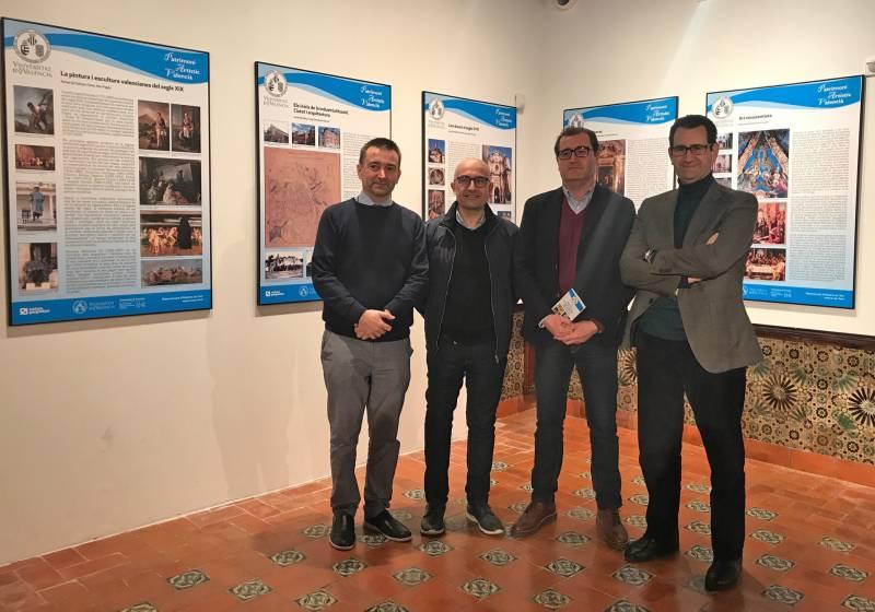 D?esquerra a dreta: el director de Relacions Institucionals i Responsabilitat Social de Caixa Popular, Paco Alós; l
