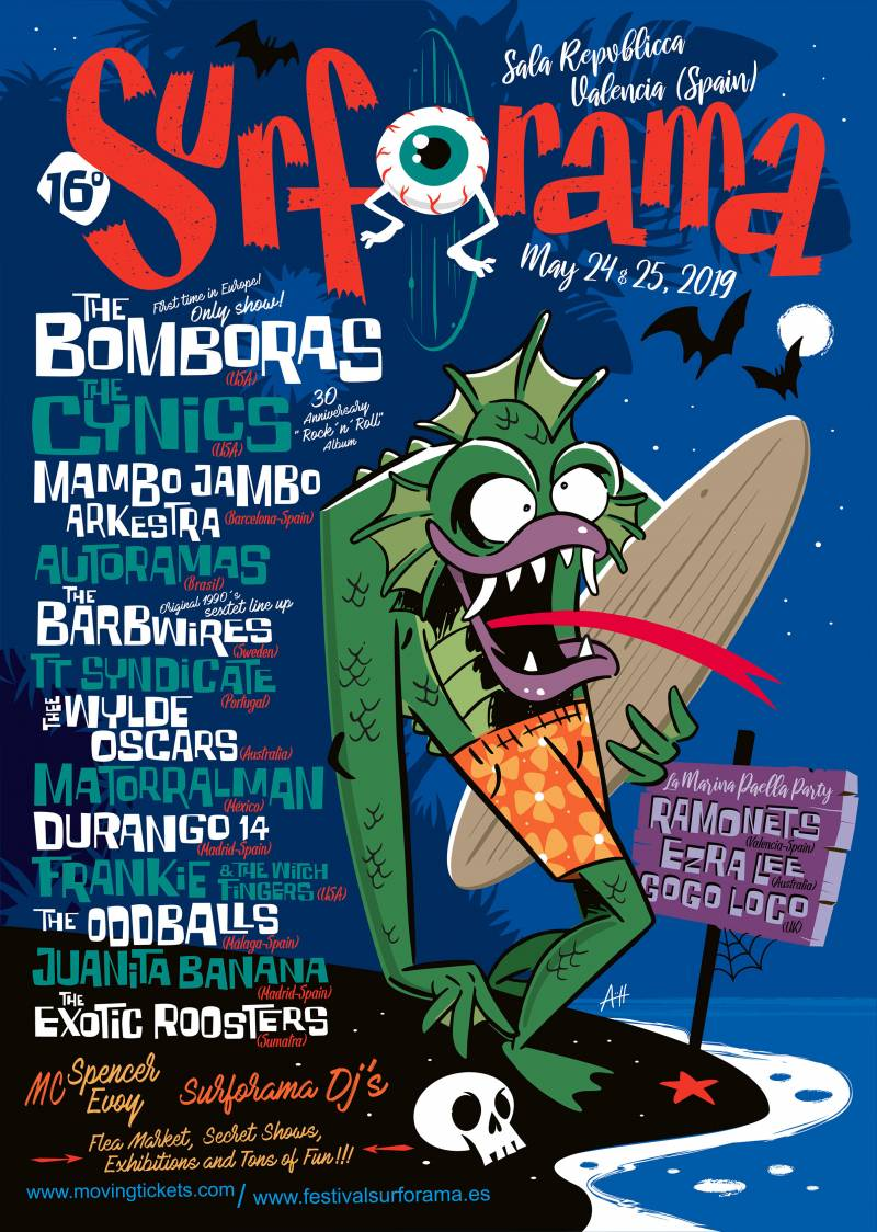 Festival Surforama, Cartel
