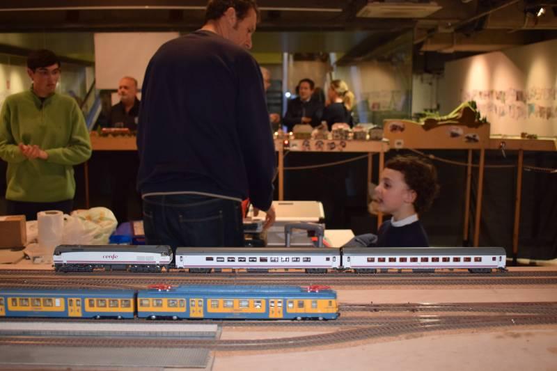 Trenes en miniatura