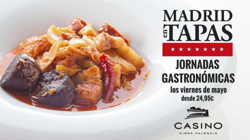 Jornadas Gastronómicas mayo Casino Cirsa Valencia
