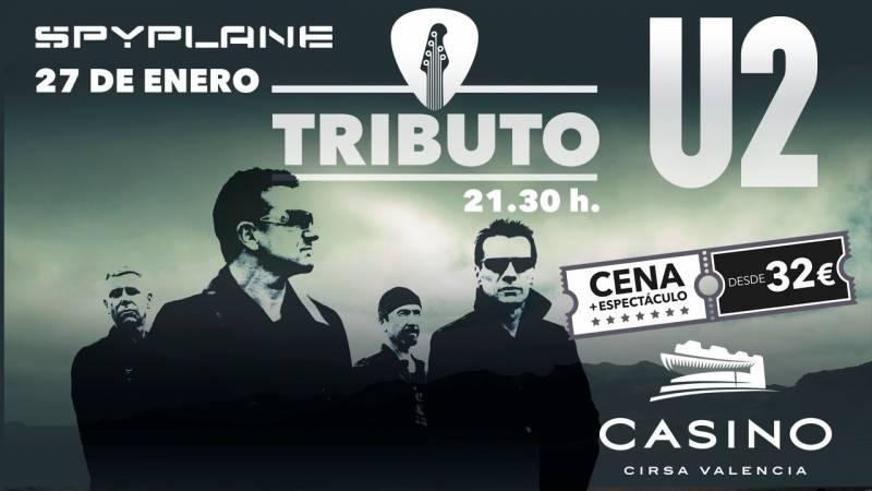 Cartel tributo a U2