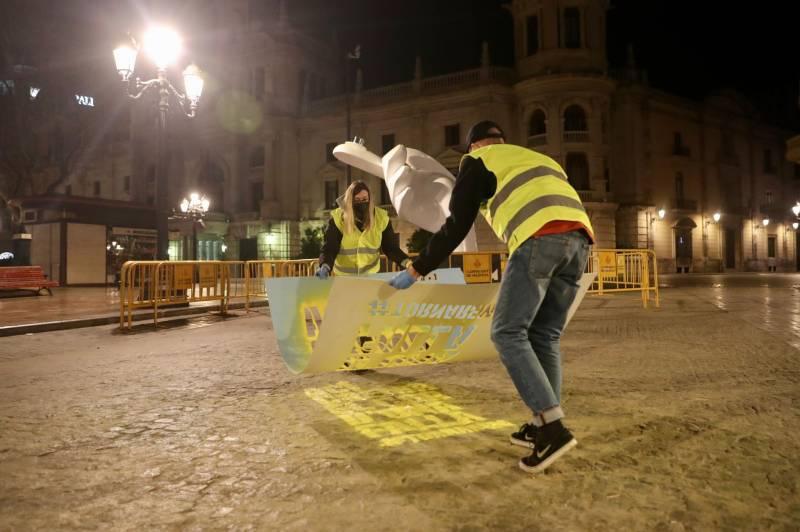 Pintada en València. EPDA.