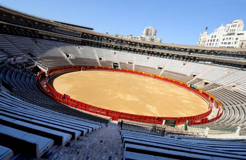Imagen de la Plaza de Toros de València, propiedad de la Diputació