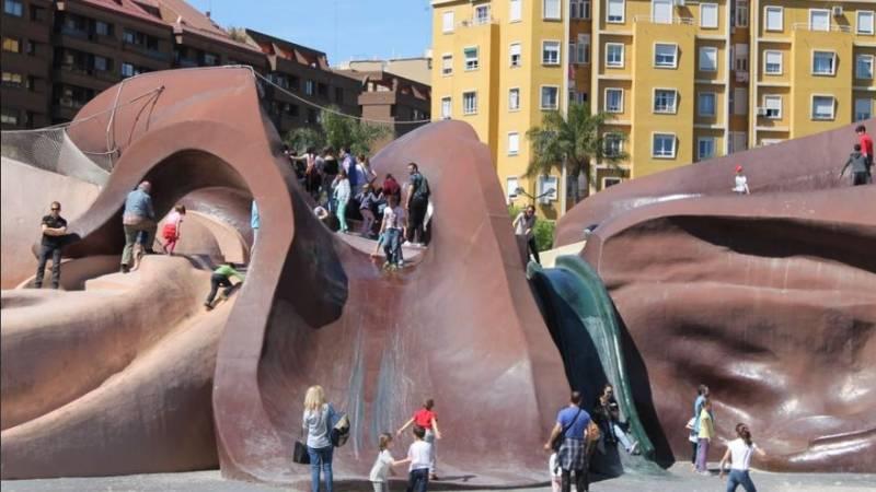 Parque Gulliver antes de su cierre. EPDA