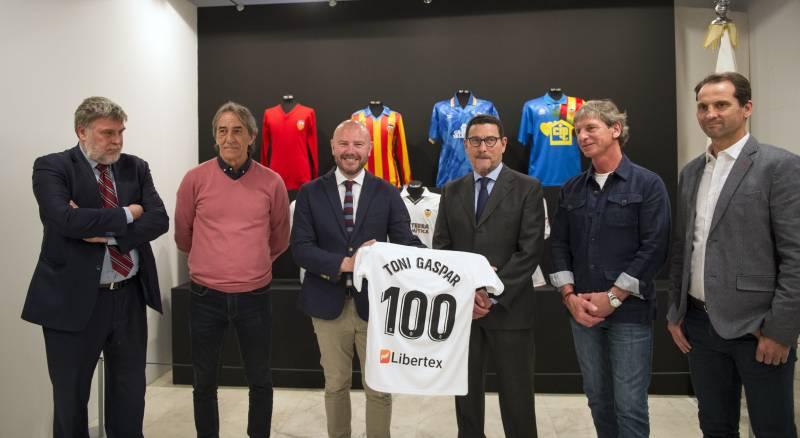 Inauguración exposición Valencia CF