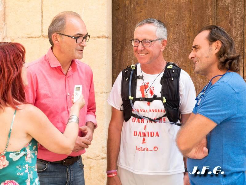 #caminodarsangreesvida Ximo Segarra, J. Manuel Darijo y Alfonso Faus