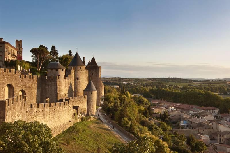 Fortificadas de la ciudad Medieval de carcasona, Francia - Foto www.istockphoto.com