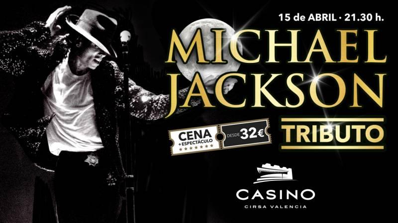 Tributo a Michael Jackson en Casino Cirsa Valencia