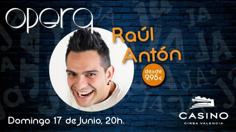Raúl Antón 17 junio Casino Cirsa Valencia