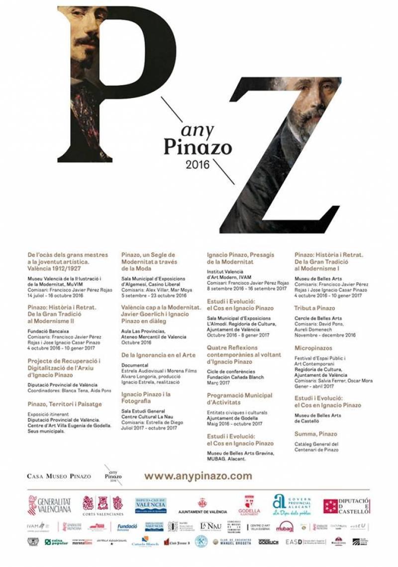 Cartel programación Año Pinazo