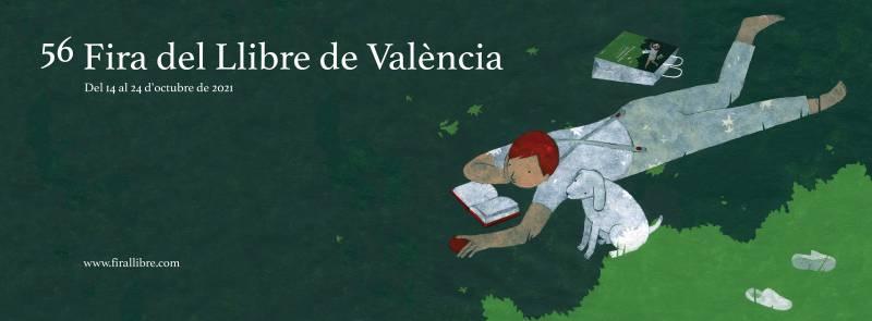 Cartell de la Fira del Llibre de València.