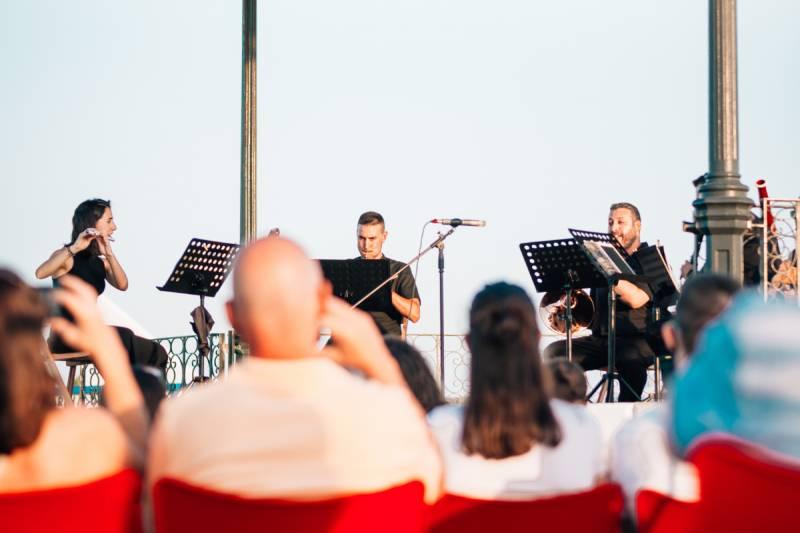 El festival Clàssica al Tinglado de la Marina de València. EPDA