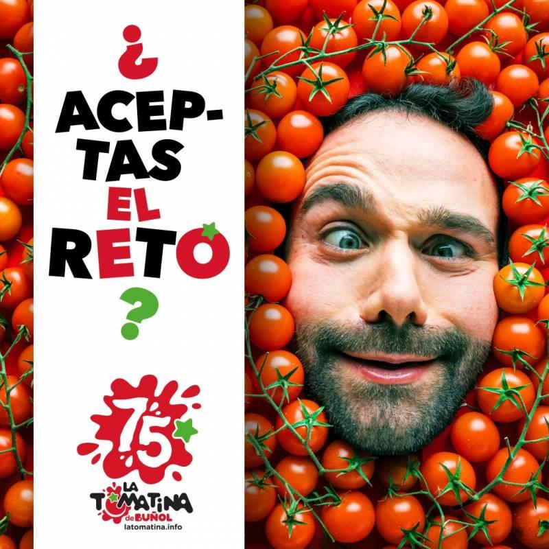 Cartel Tomatina Challenge./ EPDA