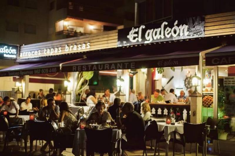 Restaurante El Galeón en Canet d