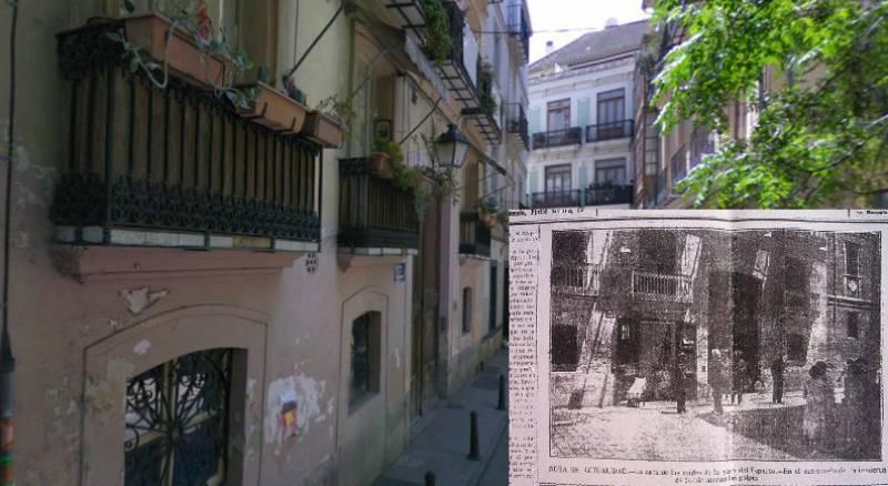 El poltergeist que asustó el Barrio del Carmen en 1915