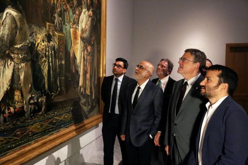Autoritats en la inauguració