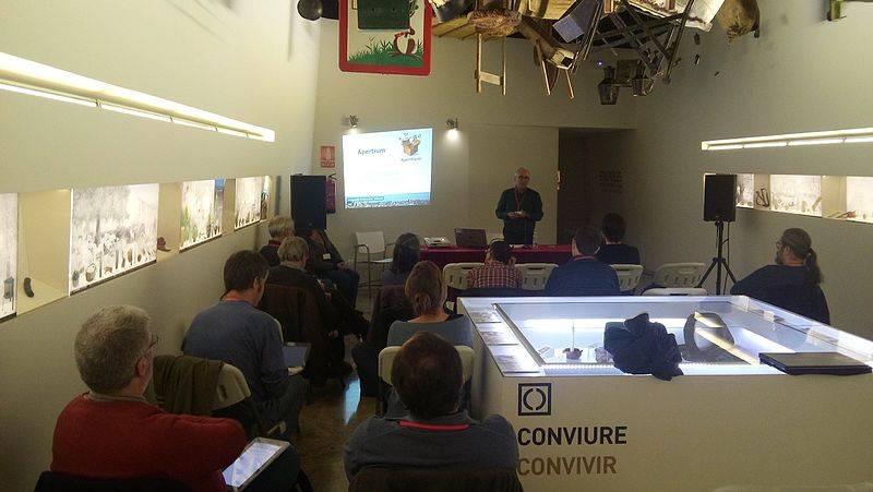 Viquitrobada 2016 Presentació Museu Valencià Etnologia