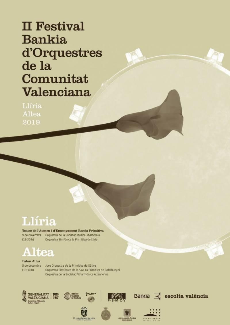 Cartel del Festival de Orquestas 2019