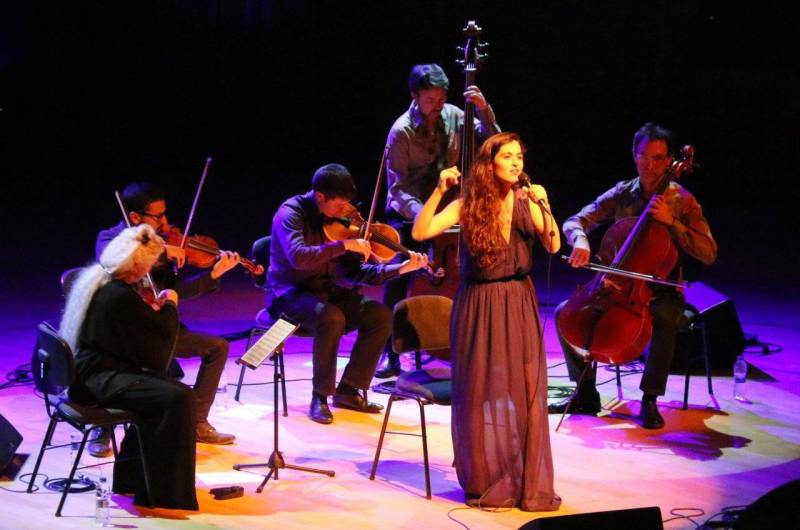 Foto de la actuación// José Antonio Gómez