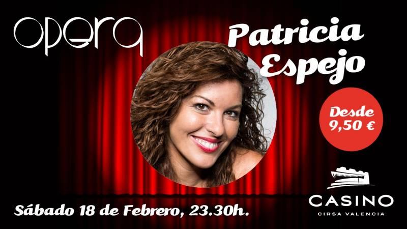 Patricia Espejo en Casino Cirsa Valencia