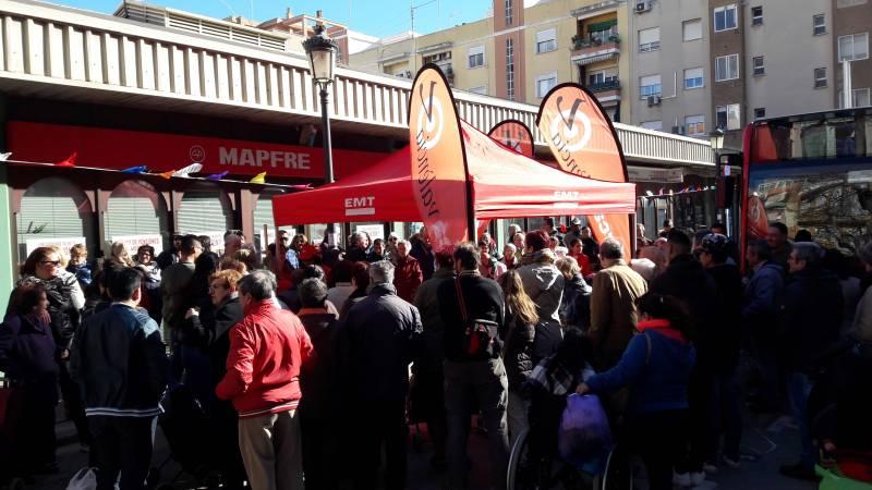 Mercavalència y EMT se unen a la Concejalía de Comercio para dinamizar los mercados municipales de Valencia