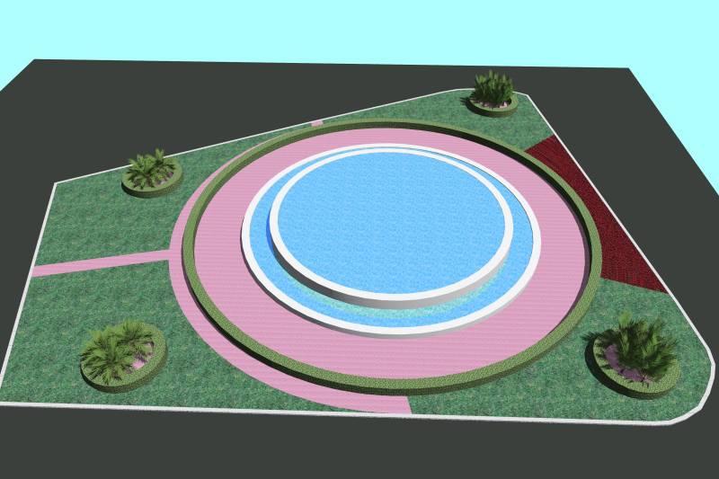 Recreació jardí plaça Ajuntament