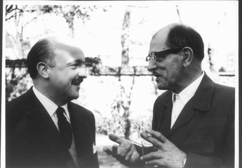 Buñuel y Ricardo Muñoz Suay
