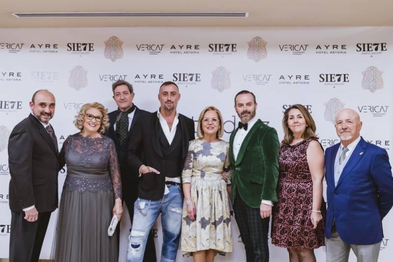 María Querol, Isaac Martínez, Toni Gómez y Olivia Catalá