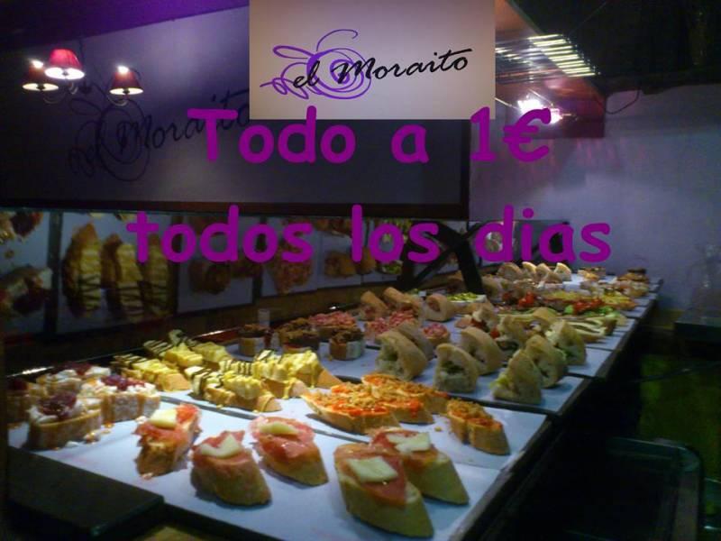 La barra de El Moraíto - Foto El Moraito