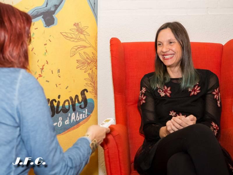 Olga Álvarez y la ilusión por el arte