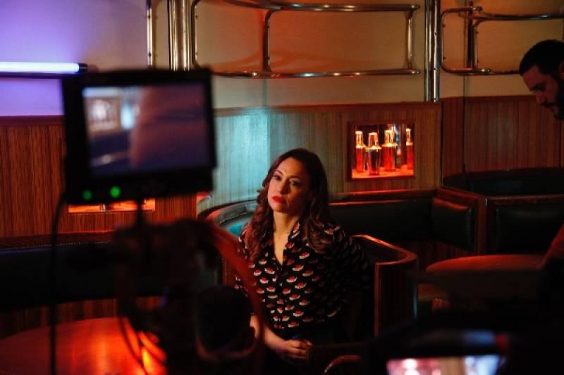 La actriz  Natalia Verbeke forma parte de este trabajo dedicado al mítico bar ubicado en la Gran Vía madrileña