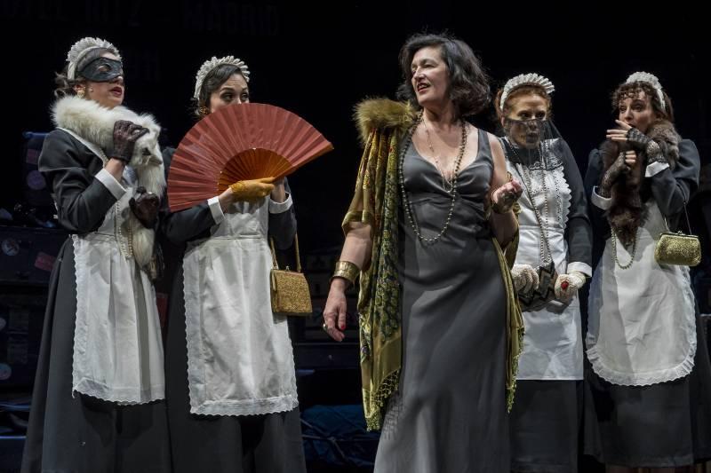 La producción del Institut Valencià de Cultura 'Tórtola' vuelve al Teatre Rialto