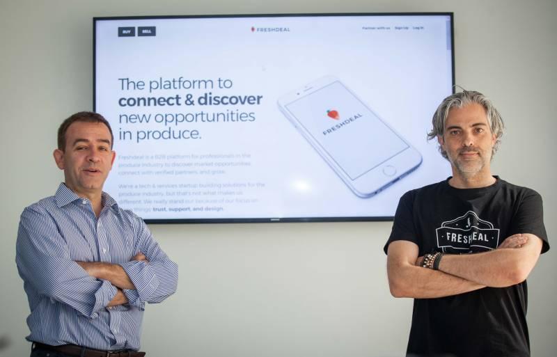 José Manuel Donate, CEO de la empresa, y Luis Carlos Serrano, socio de la misma